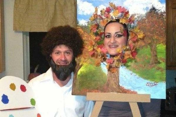 selbstgemachte-kostüme-paar-bild-und-maler