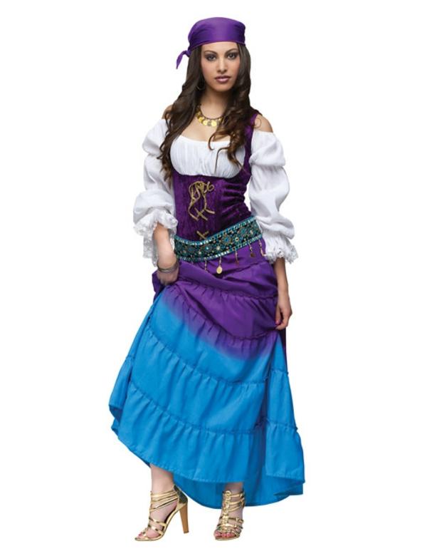 selbstgemachte-kostüme-zigeunerin