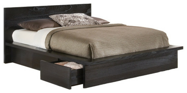 skandinavisches bett modell. Black Bedroom Furniture Sets. Home Design Ideas