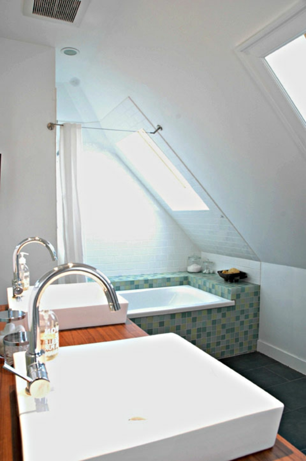 M chten sie ein traumhaftes dachgeschoss einrichten 40 for Dachgeschoss badezimmer