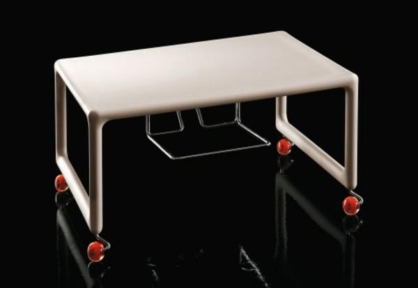 Tv tisch auf rollen 28 originelle designs - Tisch auf rollen ...