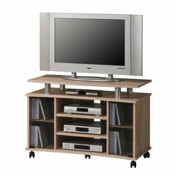 tv tisch auf rollen 28 originelle designs. Black Bedroom Furniture Sets. Home Design Ideas
