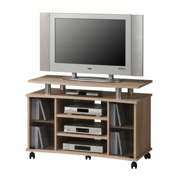 tv tisch auf rollen 28 originelle designs. Black Bedroom Furniture Sets. Home Design Ideas