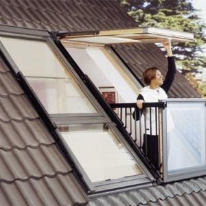 Velux Dachbalkon - eine minimalistische Design - Entscheidung!