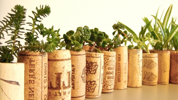Basteln mit korken neue interessante vorschl ge for Deko pflanzen