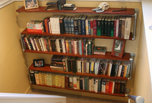 Bücherregal Selber Bauen 55 Ideen Archzinenet
