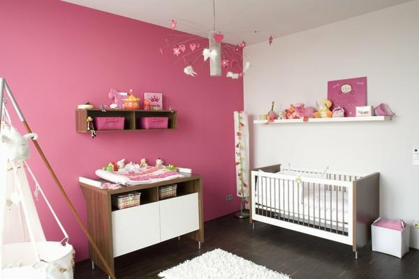 wandfarbe beere erdbeere3 - Kinderzimmer Wandfarbe