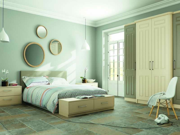 wandfarbe mintgr n menthol frische im sommer. Black Bedroom Furniture Sets. Home Design Ideas
