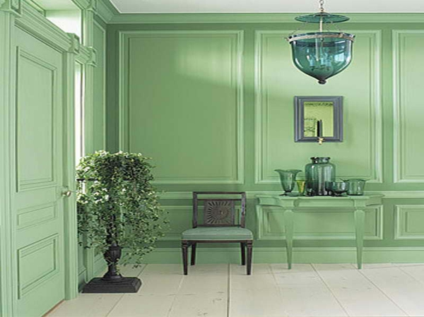 wandfarbe-mintgrün-Mint-Green-Room-Ideas-with-nice-wall