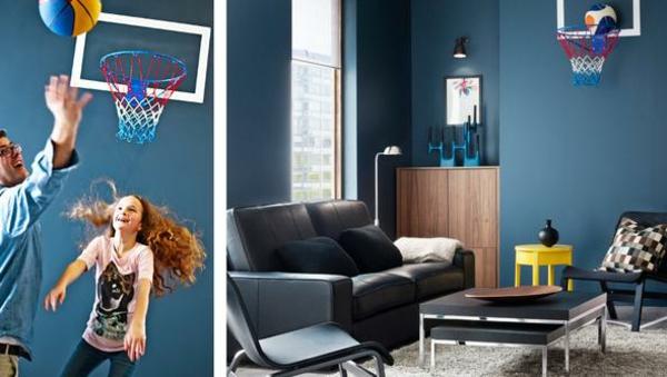 Cappuccino Farben Mischen : Wandfarbe taubenblau mit der bescheidenheit der tauben spielen!