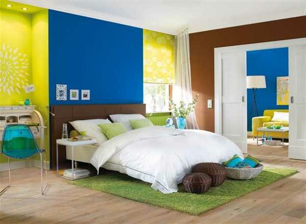 Wandfarben kombinationen machen spa - Combinaciones de colores para pintar una habitacion ...