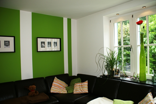 Farben Im Wohnzimmer Gruen Weiss – usblife.info