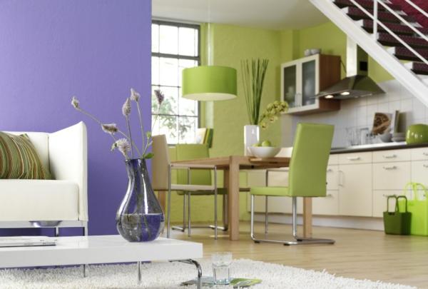 wohnzimmer grün lila – Dumss.com