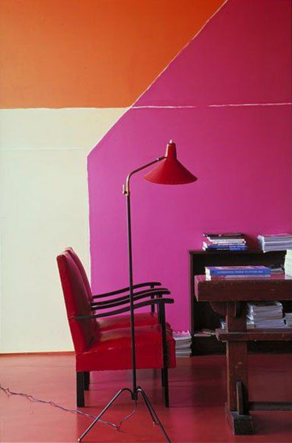 wandfarben-kombination-orange-rot