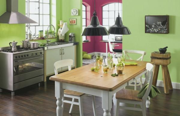 wandfarben-kombination-rosa-grün