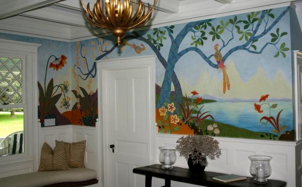 Wandmalerei Ideen Southampton NY