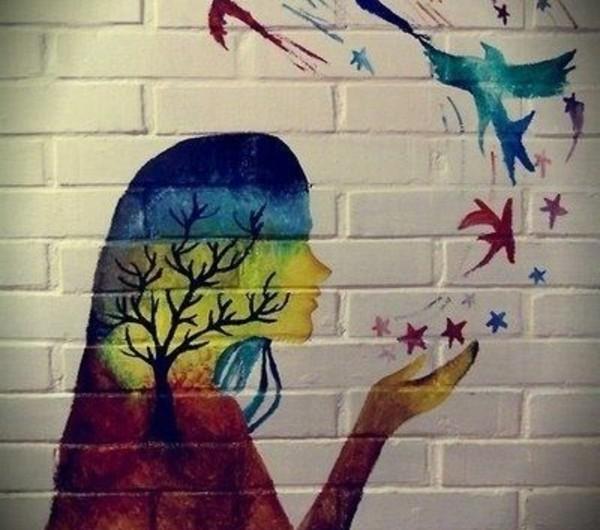 Wandmalerei Wohnzimmer Ideen: 27 Wandmalerei Ideen Für Ihre Einzigartigen Wände