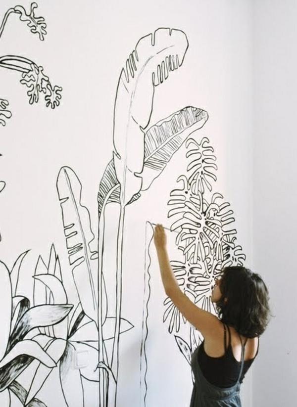 27 Wandmalerei Ideen Fur Ihre Einzigartigen Wande Archzine Net