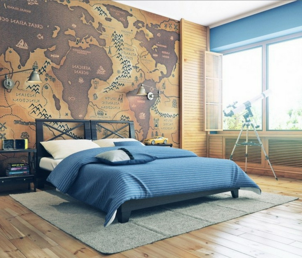 Entzuckend 27 Wandmalerei Ideen Für Ihre Einzigartigen Wände!