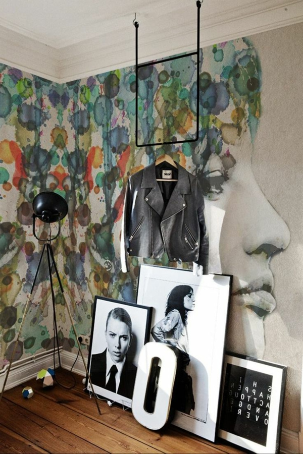 Wandmalerei Ideen Modern