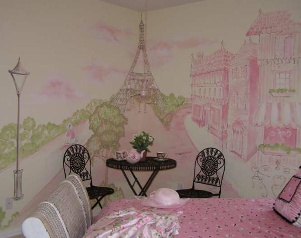 Wandmalerei Im Kinderzimmer U2013 Magische Welten Entdecken!
