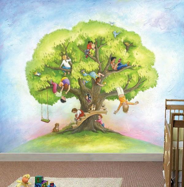 wandmalerei im kinderzimmer magische welten entdecken On wandmalerei kinderzimmer