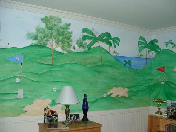 wandmalerei-im-kinderzimmer-golf
