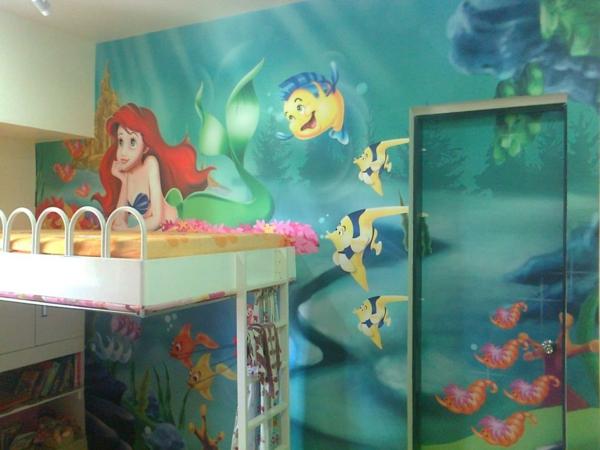 Wandmalerei Im Kinderzimmer Heldenßariel