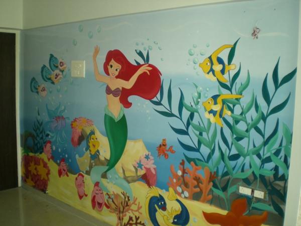 Wandmalerei im kinderzimmer magische welten entdecken - Disney kinderzimmer ...