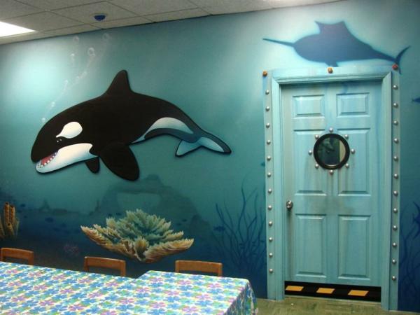wandmalerei-im-kinderzimmer-nautisch-fische