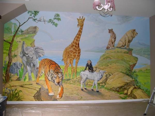 wandmalerei-im-kinderzimmer-tiere (2)
