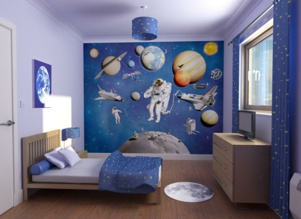 wandmalerei im kinderzimmer magische welten entdecken. Black Bedroom Furniture Sets. Home Design Ideas