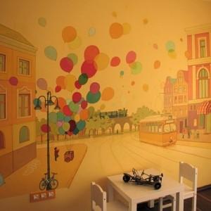Wandmalerei im Kinderzimmer - magische Welten entdecken!