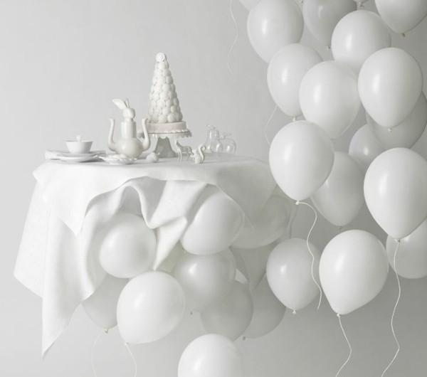 Einrichten mit farben wei e farbe die g ttliche helligkeit for Weisse dekoartikel