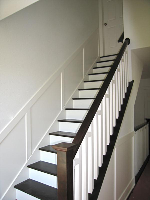 Treppen Gestalten weiße treppen schlichte und minimalistische einheit archzine