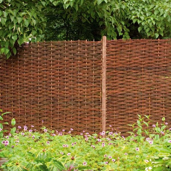Weidenzaun Selber Machen Für Eine Natürliche Gartengestaltung