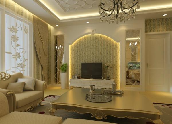 wohnzimmer-im-europäischen-stil-gestalten-ein sehr großer nesttisch