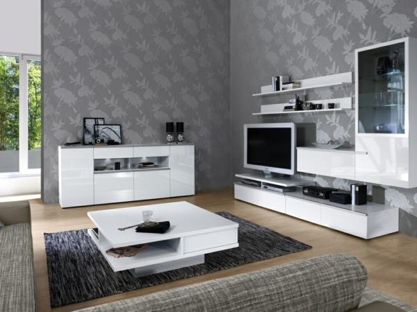wohnzimmer modern schwarz weiß – Dumss.com