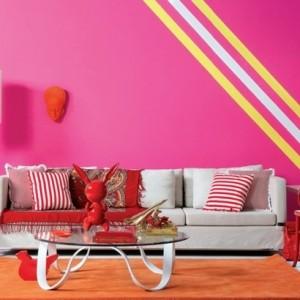Pinke Wandfarbe - 31 super Beispiele!