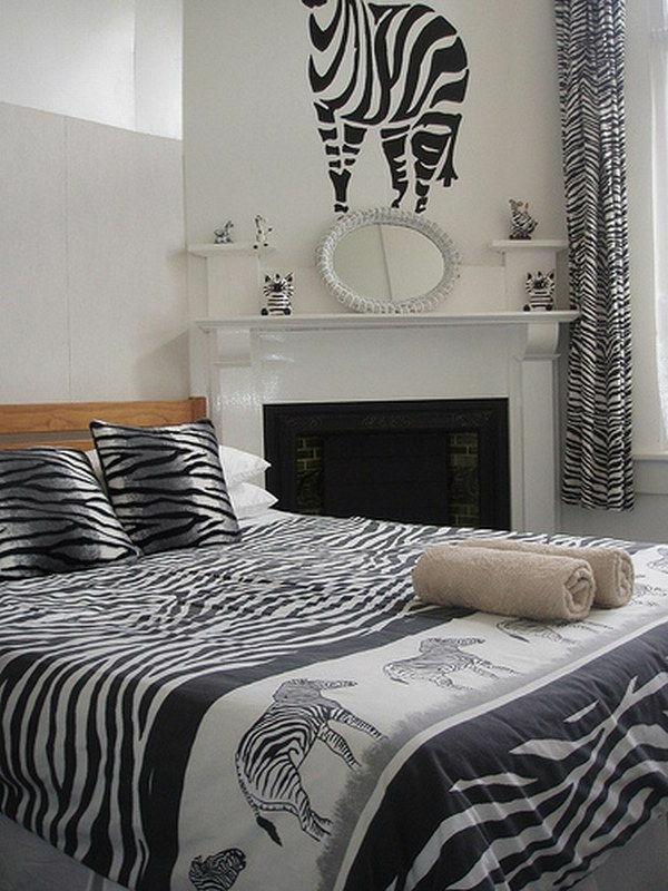 zebrafell-möbel-decken