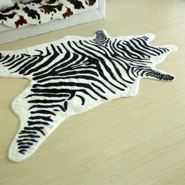 zebrafell-möbel-echtes