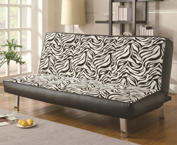 zebrafell-möbel-sofa