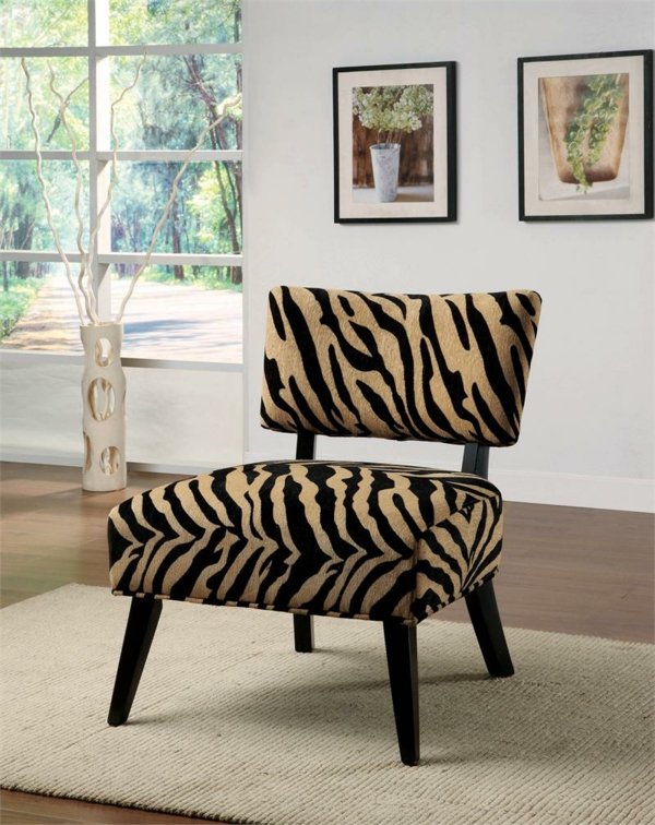 zebrafell-möbel-stuhl-design