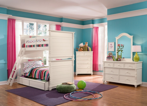 neue farbideen f r kinderzimmer. Black Bedroom Furniture Sets. Home Design Ideas