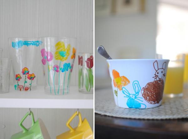 zwei-bilder-von-kindergeschirr-aus-porzellan- super kreativ