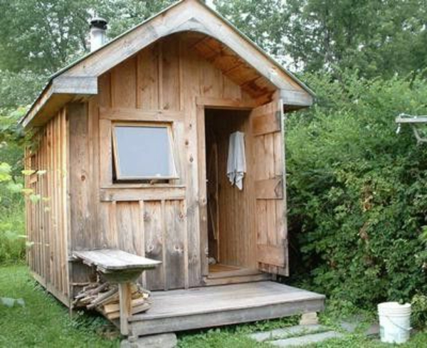 Garten-Sauna-rustic