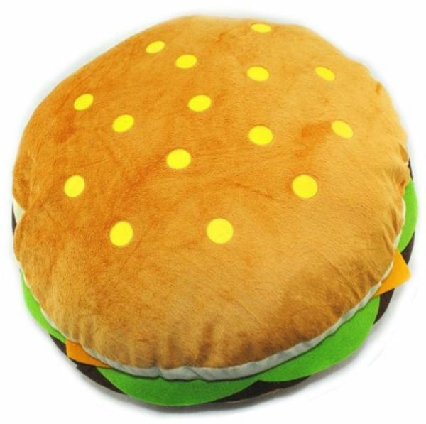 Hamburger-Sitzkissen