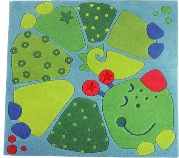 HABA-Teppich-lustig-grün