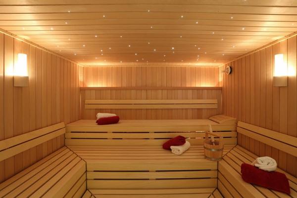 Garten-Sauna-Holz-schöne-lichter