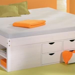 Das Doppelbett mit Schubladen - 25 super Tipps!